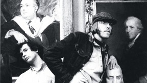 Student occupiers in University Hall, 1969