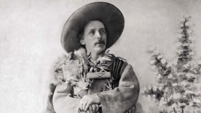 German author Karl May dressed as his Old West hero, Old Shatterhand