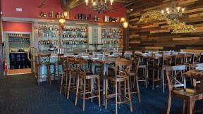 The bar at Gustavo restaurant