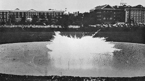 Independence Day, 1942: the first field test of napalm, behind Harvard Business School