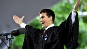 """Latin Salutatorian Paul Mumma '09 (<a href=""""http://harvardmagazine.com/commencement/2009-speeches"""">View a video of his speech</a>.)"""