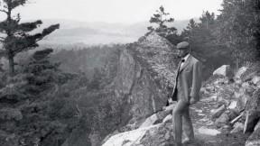 George Bucknam Dorr on the Beachcroft Path on Huguenot Head