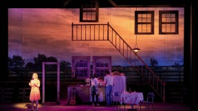 """A stage set from """"The Bridges of Madison County"""""""