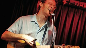 David Wax plays <i>jaranas,</i> Mexican guitars of various sizes