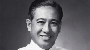 Portrait photograph of a middle-aged Lorenzo Tañada as a Philippine senator