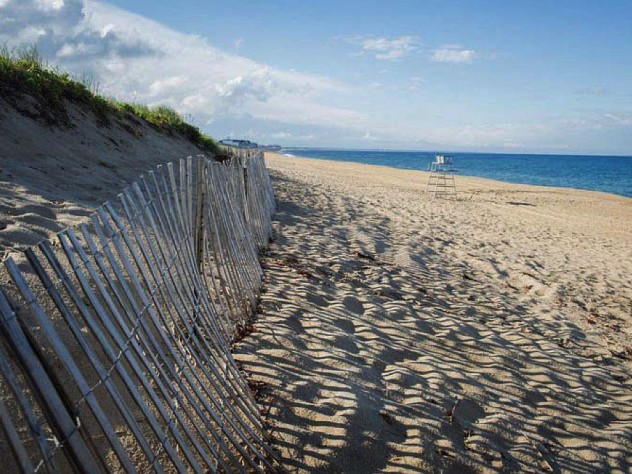 sandy shores at Salisbury Beach State Reservation